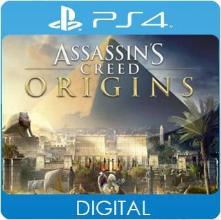 Assassin's Creed Origins PS4 Mídia Digital