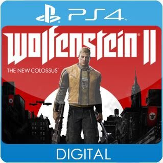 Wolfenstein II: The New Colossus PS4 Mídia Digital
