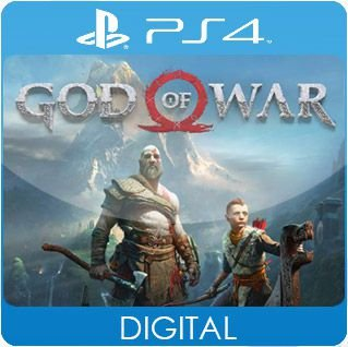 God of War PS4 Mídia Digital