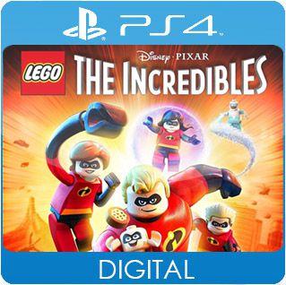 LEGO Os Incríveis PS4 Mídia Digital
