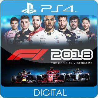 F1 2018 PS4 Mídia Digital