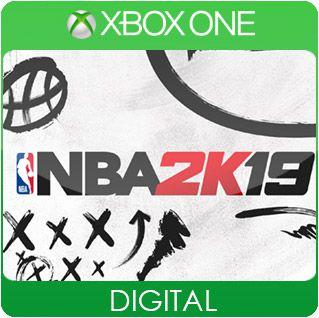 NBA 2K19 Xbox One Mídia Digital