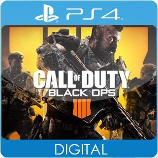 Call of Duty: Black Ops 4 PS4 Mídia Digital