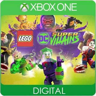 LEGO DC Super-Villains Xbox One Mídia Digital