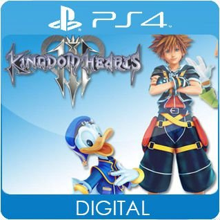 Kingdom Hearts III PS4 Mídia Digital