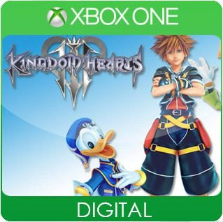 Kingdom Hearts III Xbox One Mídia Digital