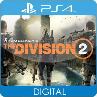 Tom Clancy's The Division 2 PS4 Mídia Digital