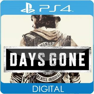 Days Gone PS4 Mídia Digital