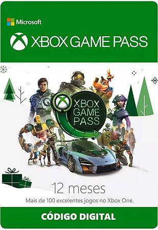 Cartão Xbox Game Pass 12 Meses