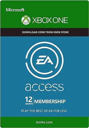 Cartão EA Access Xbox One Assinatura de 12 meses