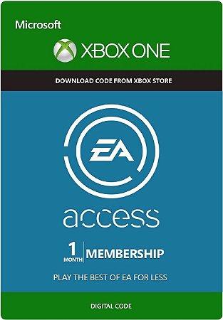 Cartão EA Access Xbox One Assinatura de 1 mês
