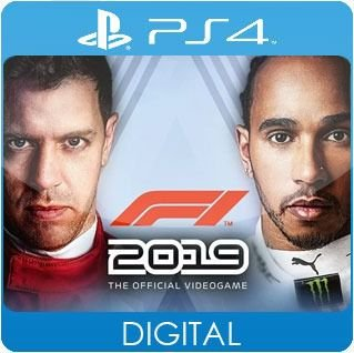 F1 2019 PS4 Mídia Digital