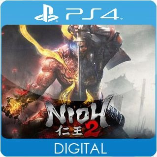 Nioh 2 PS4 Mídia Digital