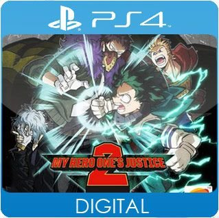 My Hero One's Justice 2 PS4 Mídia Digital
