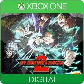 My Hero One's Justice 2 Xbox One Mídia Digital