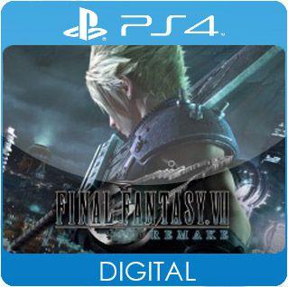 Final Fantasy VII Remake PS4 Mídia Digital