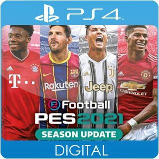 PES 2021 Season Update Standard Edition PS4 Mídia Digital