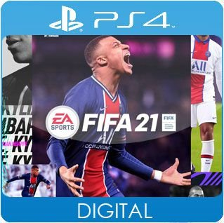 FIFA 21 PS4 Mídia Digital