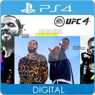 UFC 4 PS4 Mídia Digital