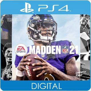 Madden NFL 21 PS4 Mídia Digital