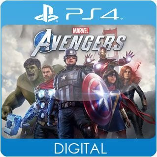 Marvel's Avengers PS4 Mídia Digital