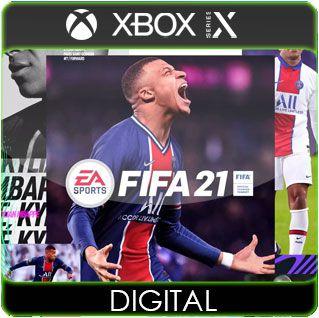 FIFA 21 Xbox Series X|S Mídia Digital