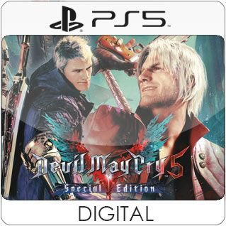 Devil May Cry 5 Special Edition PS5 Mídia Digital