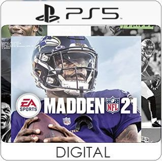 Madden NFL 21 PS5 Mídia Digital