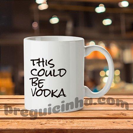 Caneca personalizada Adoro Vodka