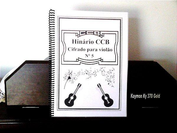 Hinário CCB n°5 (Cifrado para violão) + curso de violão popular em PDF