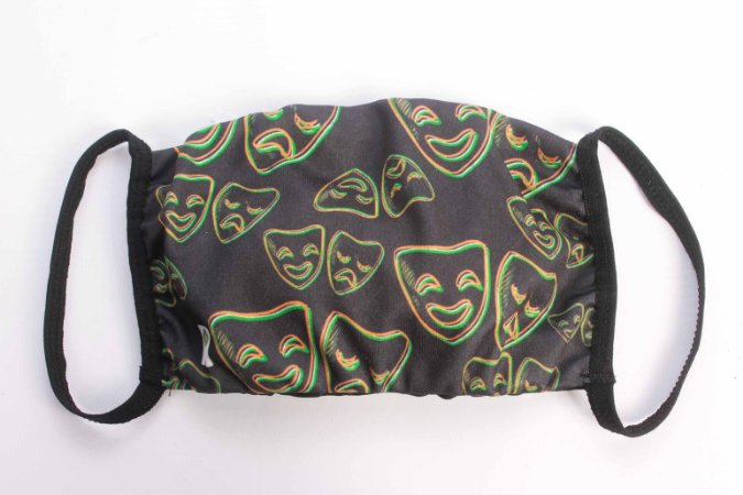 Máscara de duplo tecido EcoModas - Referência 69