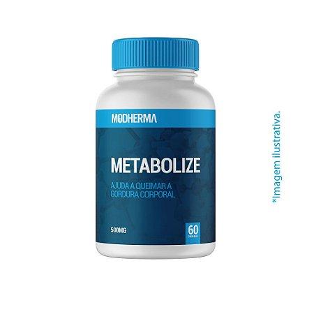 Metabolize 500mg - 60 cápsulas | Ajuda a queimar a gordura corporal