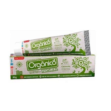 Creme Dental Suavetex Natural | Com ingredientes orgânicos e naturais 80g.