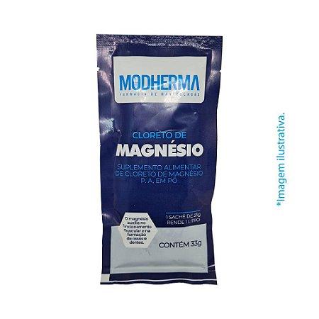 Cloreto de Magnésio - Suplemento Alimentar em pó
