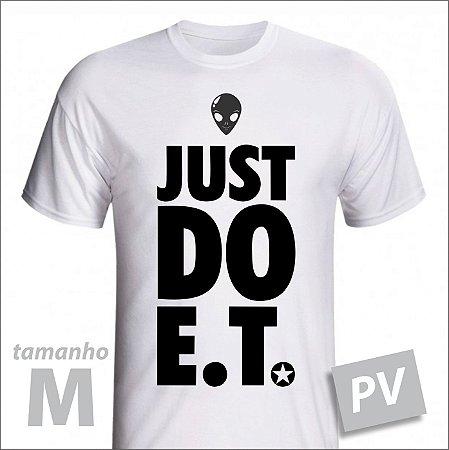 Camiseta - JUST DO ET - PV - tamanho M