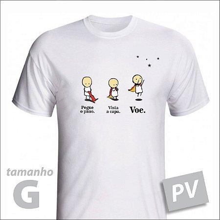 Camiseta - VOE - PV - tamanho G