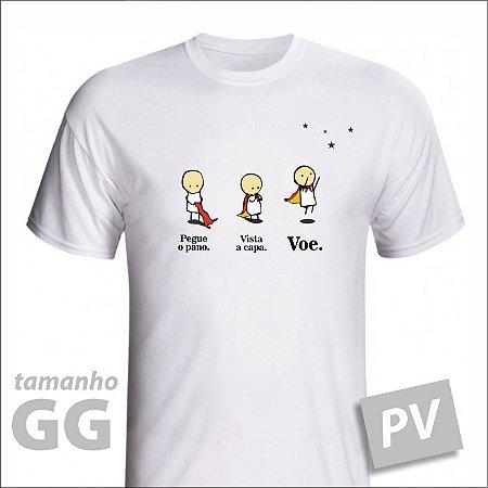 Camiseta - VOE - PV - tamanho GG