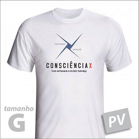 Camiseta - CONSCIÊNCIAX - PV - tamanho G