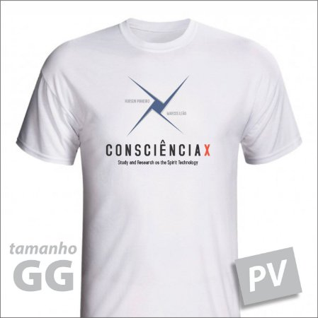 Camiseta - CONSCIÊNCIAX - PV - tamanho GG