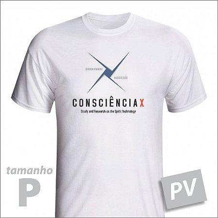 Camiseta - CONSCIÊNCIAX - PV - tamanho P