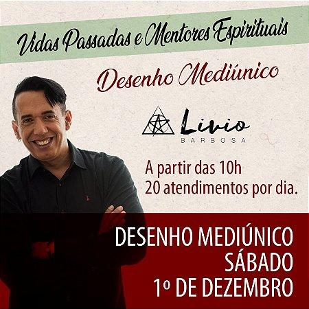 .RESERVA DE DESENHO MEDIÚNICO - SÁBADO - Vidas Passadas e Mentores Espirituais