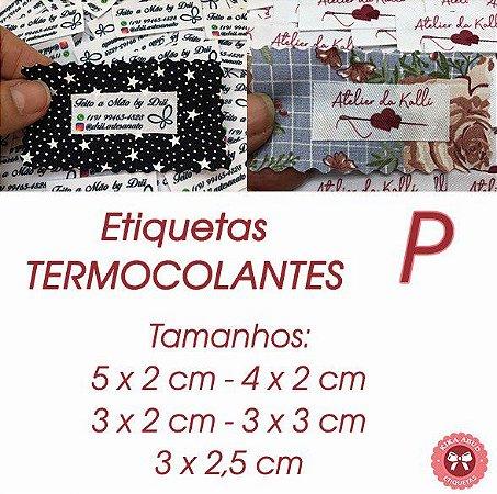 Etiquetas TERMOCOLANTES - tamanho P