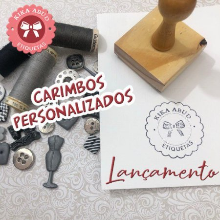 Carimbos de Madeira Personalizados