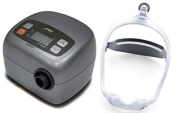 Kit CPAP Apex Fit e Máscara Nasal Dreamwear Philips