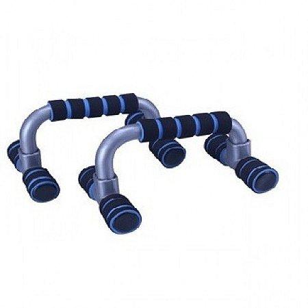 Apoio para Flexão de Braço Simples Azul - LiveUp