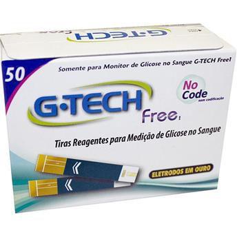Tiras Reagentes G-Tech Free 50 unidades