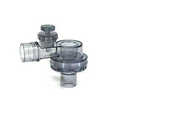 Válvula Unidirecional POP-OFF 40 CMH2O Ressuscitador Silicone