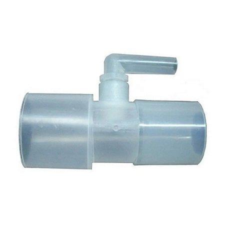 Conector De Entrada De Oxigênio C/ Conector Giratório Reto