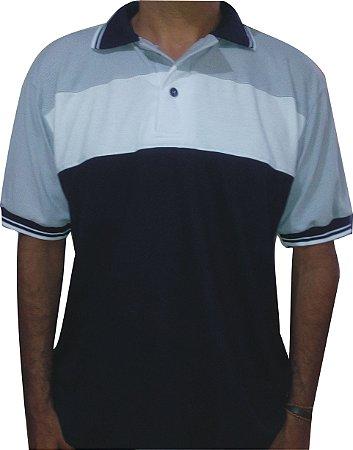 Camisa Polo com Recorte Masculina - Felita Uniformes 871c3abd6ed15