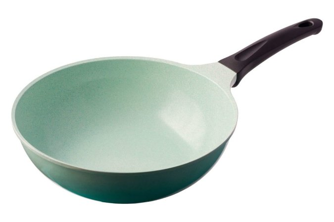 Wok de Cerâmica Roichen 28cm 3,7L - Cooktop de Indução